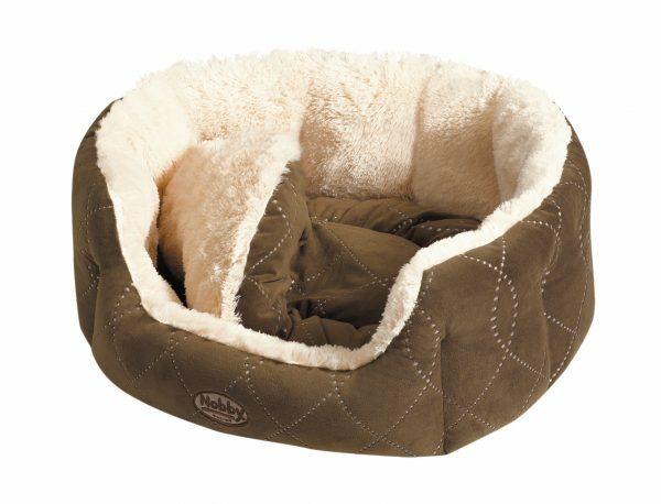 Hondenmand ceno bruin 45x40cm