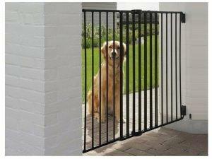 Dog Barrier Gate Outdoor H 95 cm