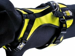 Harnas matrix Neo Yellow nek 45-51cm borst 53-61cm