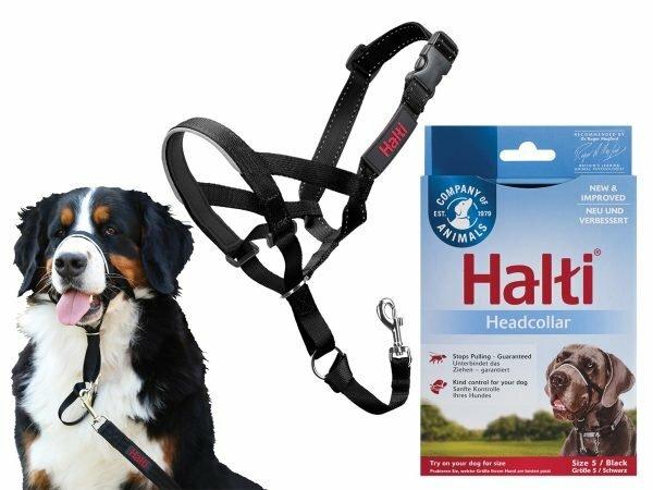 HALTI Headcollar zwart 5
