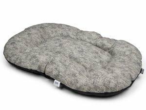 Kussen Winter grijs 100x65cm