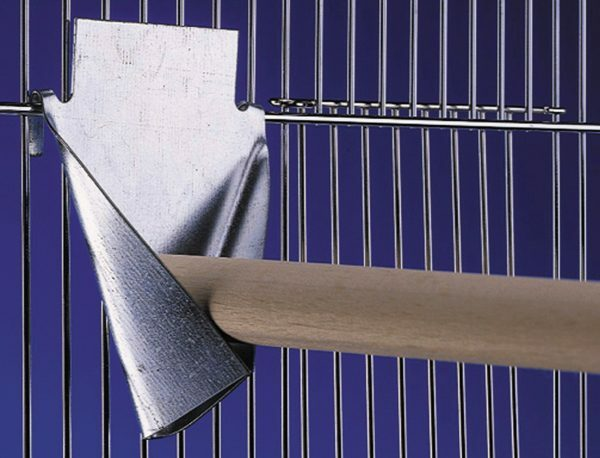 Stokhouder metaal 4,5 x 6 cm