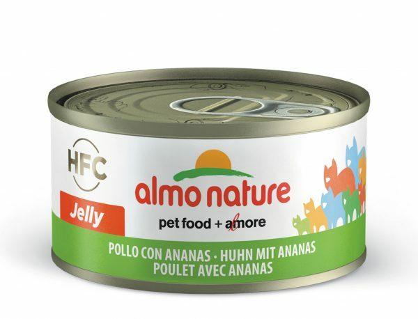 HFC Cats 70g Jelly - kip met ananas FR