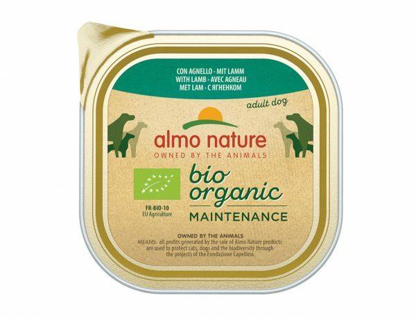 BIO Organic Dogs 300g met lam