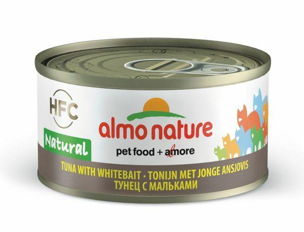 HFC Cats 70g Natural - tonijn met jonge ansjovis