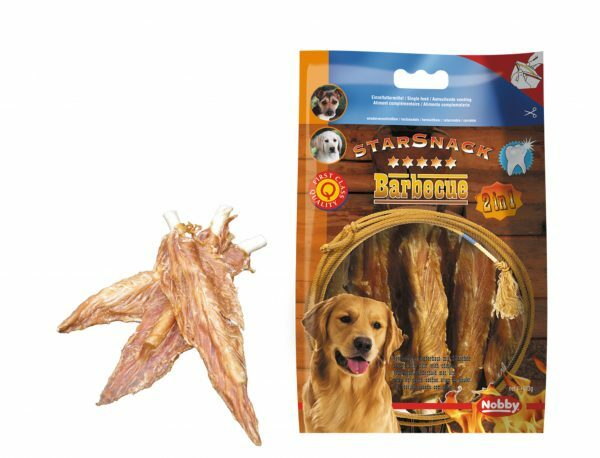 Snack hond kip filet stick omwikkeld 113gr
