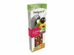 Snack StixX Grote parkiet &papegaai fruit 115gr(2)
