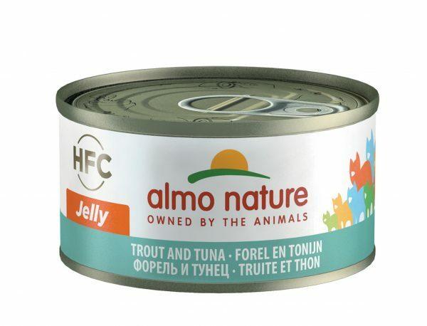 HFC Cats 70g Jelly - forel en tonijn