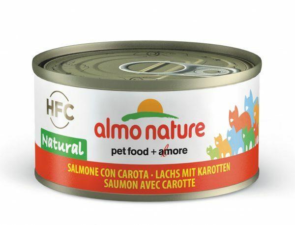 HFC Cats 70g Jelly  - zalm met wortel FR