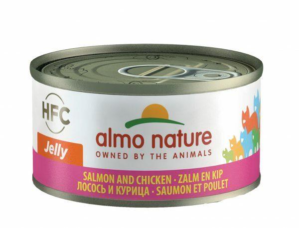 HFC Cats 70g Jelly  - met zalm en kip