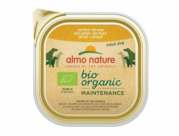 BIO Organic Dogs 300g met kip