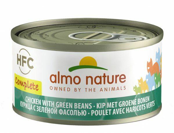 HFC Complete Cats 70g Kip en groene bonen