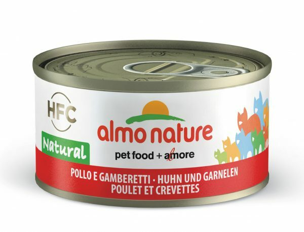 HFC Cats 70g Natural - kip en garnaaltjes FR