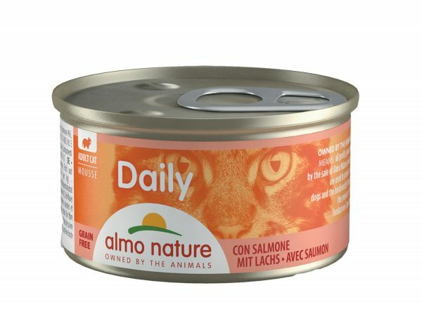 Daily Cats 85g Mousse met zalm