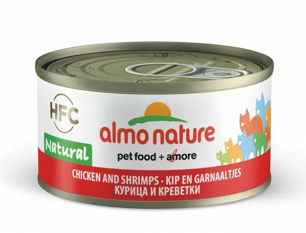 HFC Cats 70g Natural - kip en garnaaltjes
