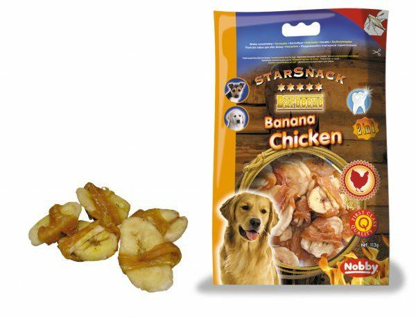 Snack hond kip met banaan 113gr