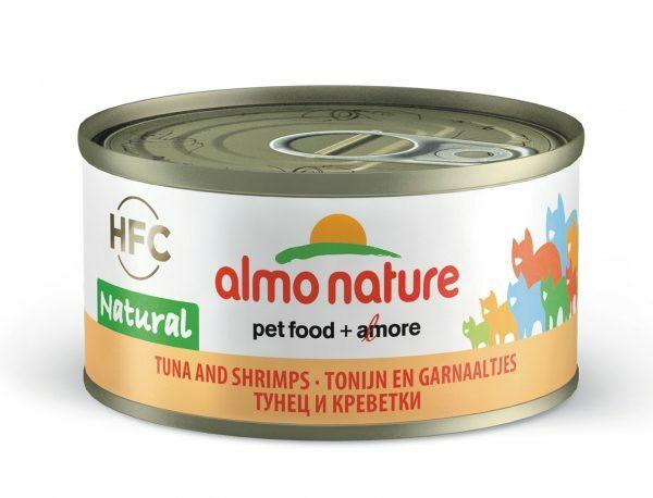 HFC Cats 70g Natural - tonijn en garnaaltjes