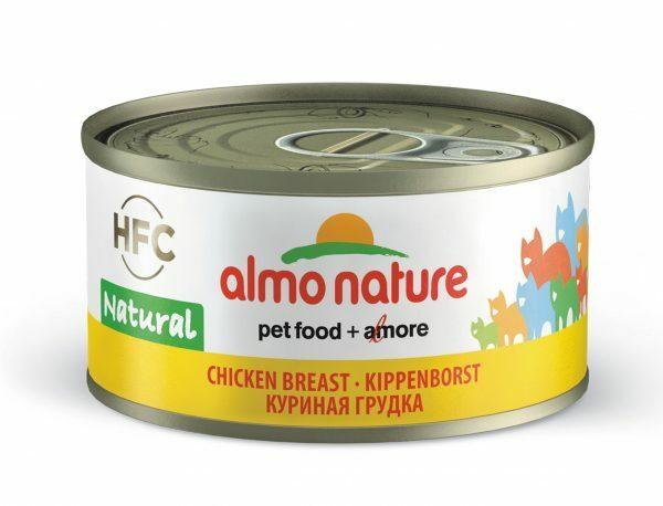 HFC Cats 70g Natural - kippenvlees