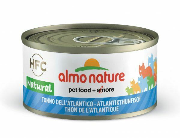 HFC Cats 70g Natural - atlantische tonijn FR