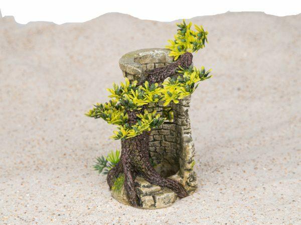 Aqua Deco Toren met bonsai 90x100x150mm