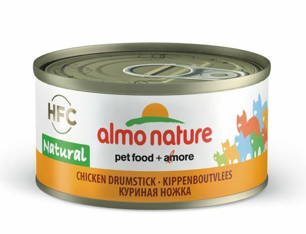 HFC Cats 70g Natural - kippenboutvlees
