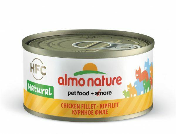 HFC Cats 70g Natural - kipfilet