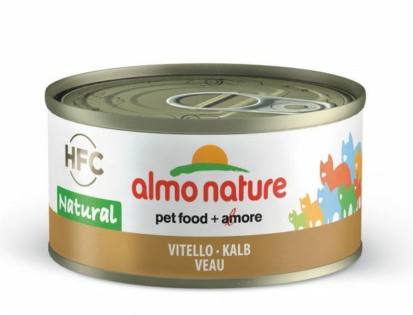 HFC Cats 70g Natural - kalfsvlees