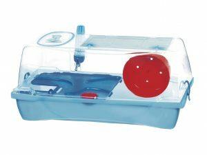 Hamsterkooi Kleo Box blauw 58x32x31cm
