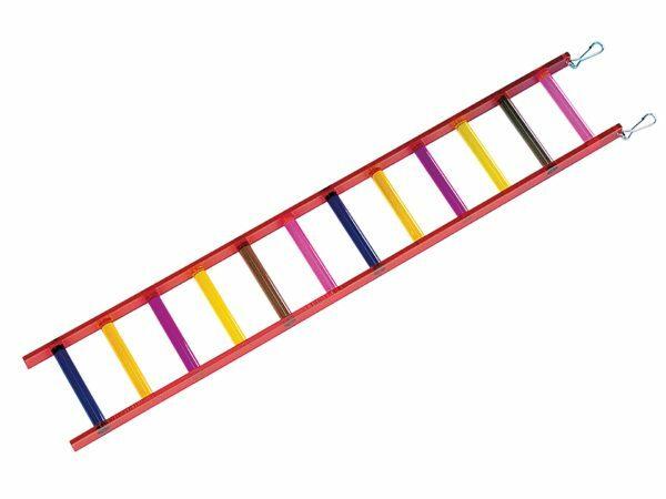 Speelgoed vogel plexi ladder12 sporten 61 x10cm