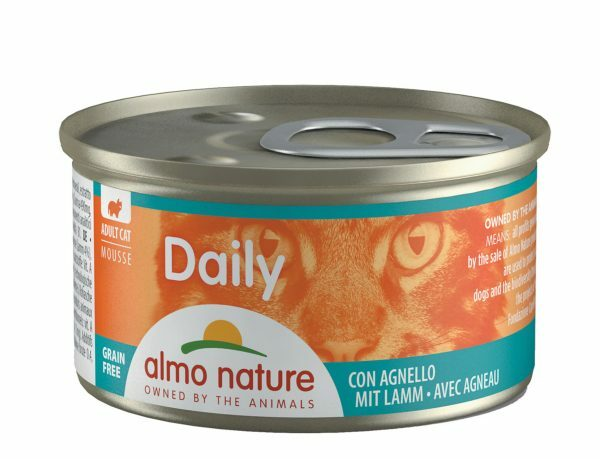 Daily Cats 85g Mousse met lam