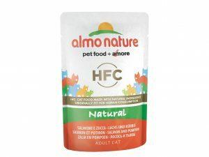 HFC Cats 55g Natural - zalm en pompoen