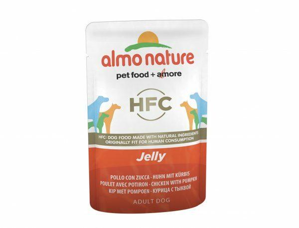 HFC Dogs 70g Jelly - kip en pompoen