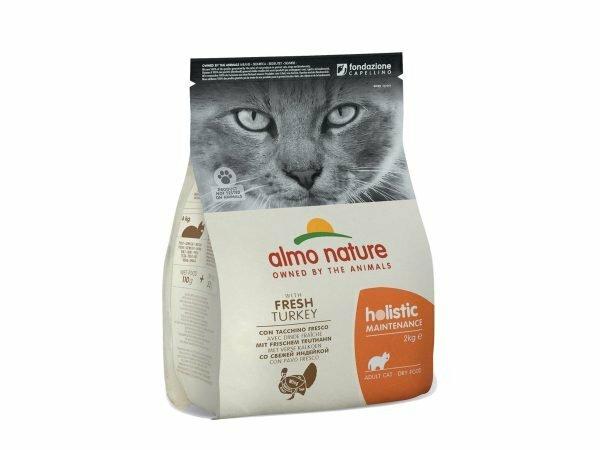 Holistic Cats 2Kg kalkoen en rijst