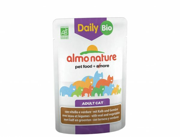 Daily BIO Cats 70g met kalfsvlees en groenten