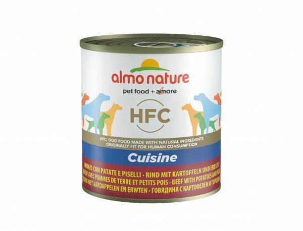 HFC Dogs 290g Cuisine - rund met groentjes