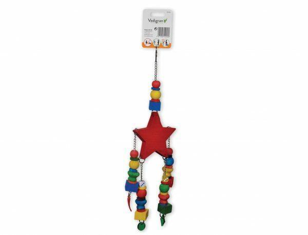Speelgoed vogel Red Star multikleur 40cm