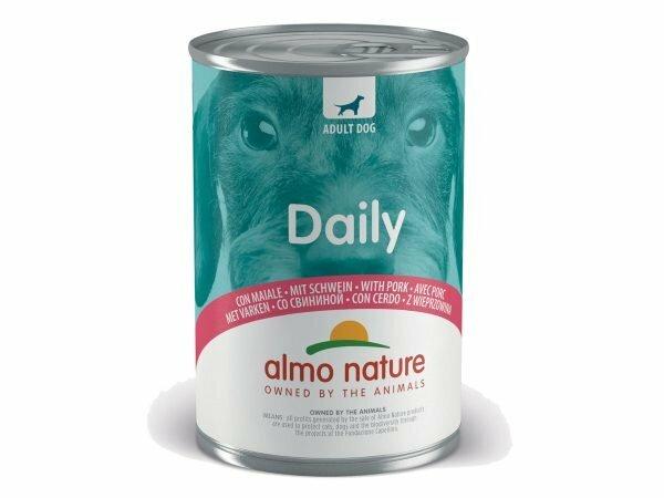 Daily Dogs 400g met varken