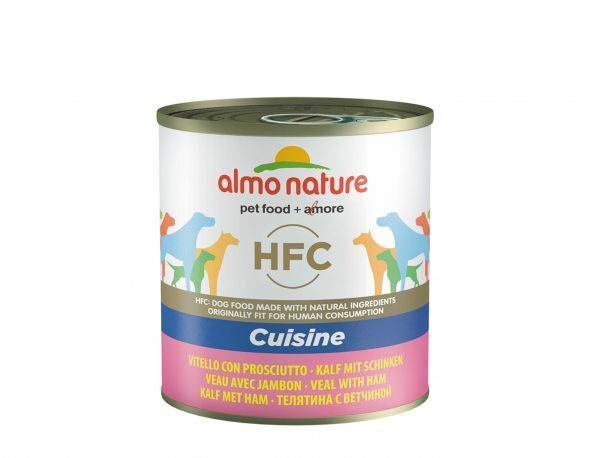 HFC Dogs 290g Cuisine - kalfsvlees met ham