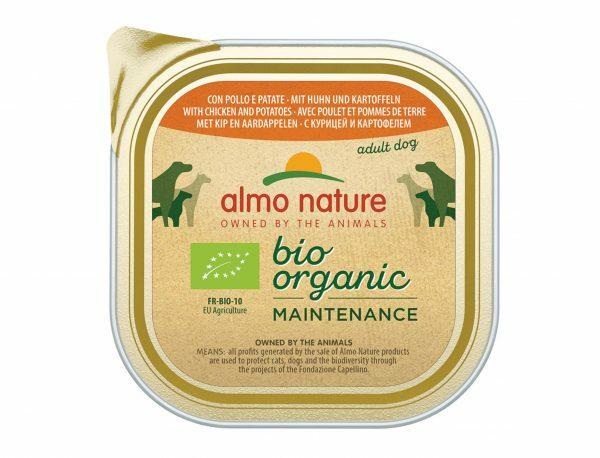 BIO Organic Dogs 300g met kip and aardappelen