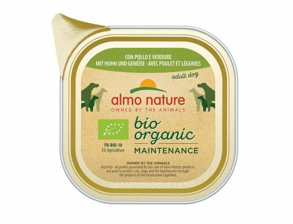 BIO Organic Dogs 100g met kip en groenten
