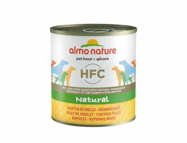 HFC Dogs 280g Natural - kipfilet
