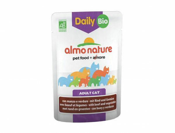 Daily BIO Cats 70g met rund en groenten