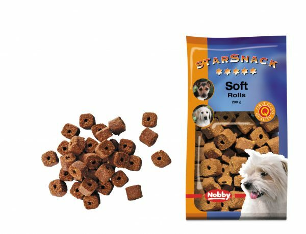 Snack hond soft rolls 200gr