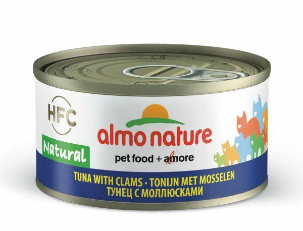 HFC Cats 70g Natural - tonijn met mosselen