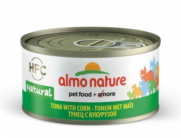 HFC Cats 70g Natural - tonijn met maïs