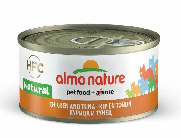 HFC Cats 70g Natural - kip en tonijn
