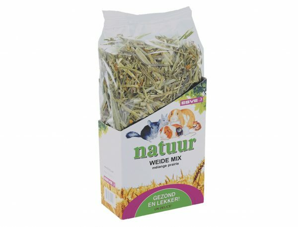 Natuur weide-mix knaagdieren 100 gr