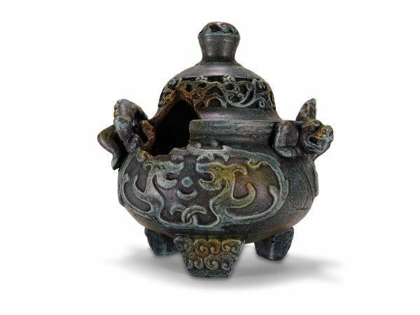 Aqua Deco Chinese vaas 145x128x153mm