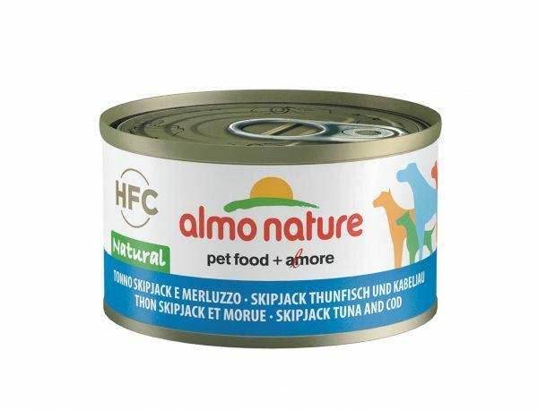 HFC Dogs 95g Natural - skipjack tonijn & kabeljauw