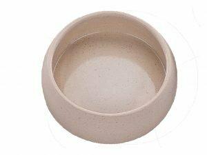 Eetpot knaagdier aardewerk natuur Ø12cm
